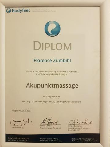Diplom Akupunkt(ur)-Massage