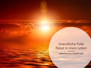 Unendliche Fülle - Leben - www.florence-zumbihl.com