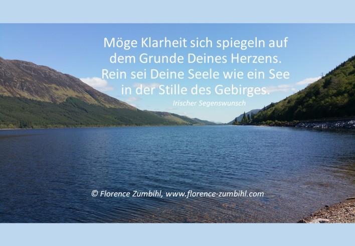 Zumbihl-Florence Irsicher Segenswunsch Herz See