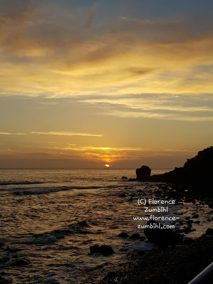 Sonnenuntergang in Valle Gran Rey (C) Florence Zumbihl